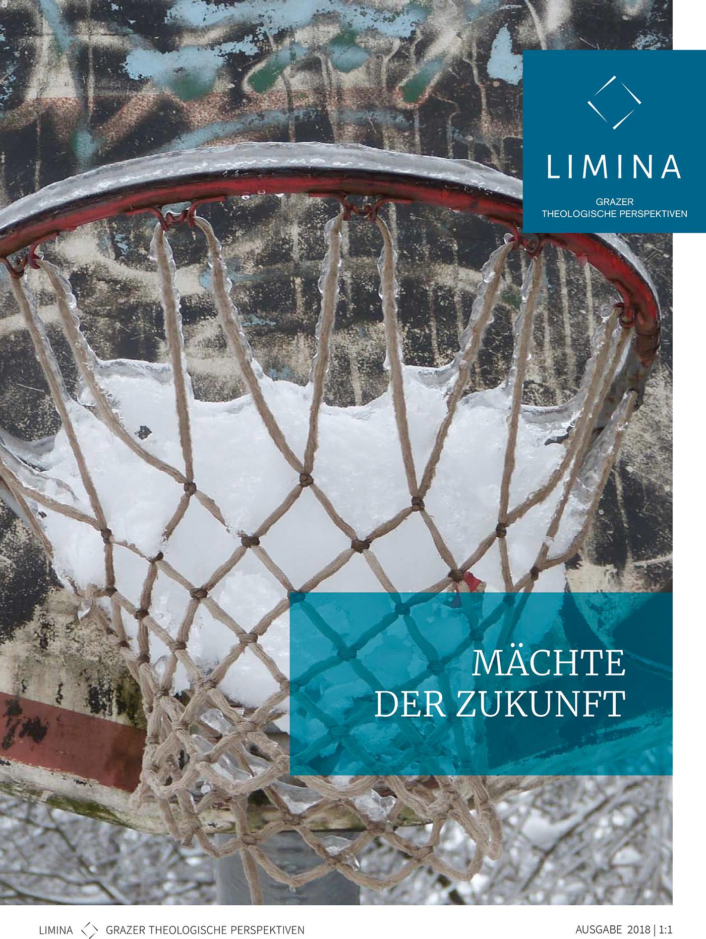 """Cover Limina 2018, 1/1, """"Mächte der Zukunft"""""""